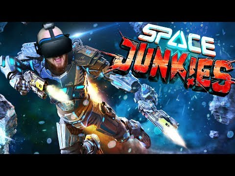 UNREAL VR SPACE SHOOTER!! Space Junkies Gameplay Oculus Rift