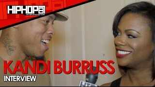 Kandi Burruss Talks L.A. Reid, RHOA, Kandi Koated Nights, A New Album & More (Video)