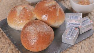 Receta para unos deliciosos y esponjosos panecillos de brioche _ Levanova