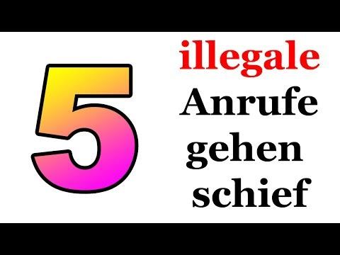 5 illegale Anrufe, die schief gingen