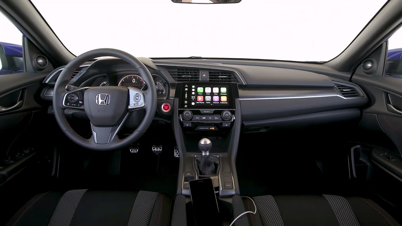 2017 Honda Civic Si Sedan Interior Youtube