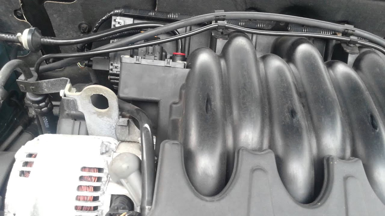 Rover 75 kv6 inlet manifold rattle? YouTube