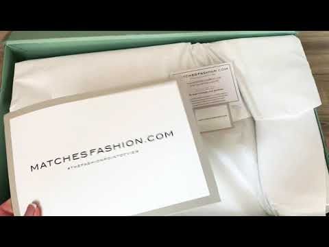 UNBOXING NEW GUCCI SCREENER CLEAN SNEAKERS/ Matchesfashion