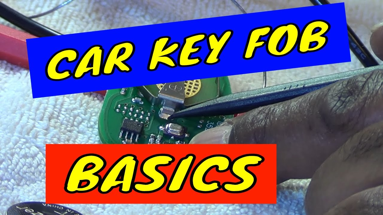 GM car remote / key fob repair, cleaning, battery replacement, and other  common problems
