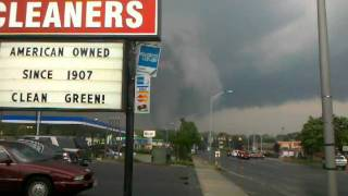 Springfield Massachusetts Tornado June 1st 2011 Shocking (Raw Video)