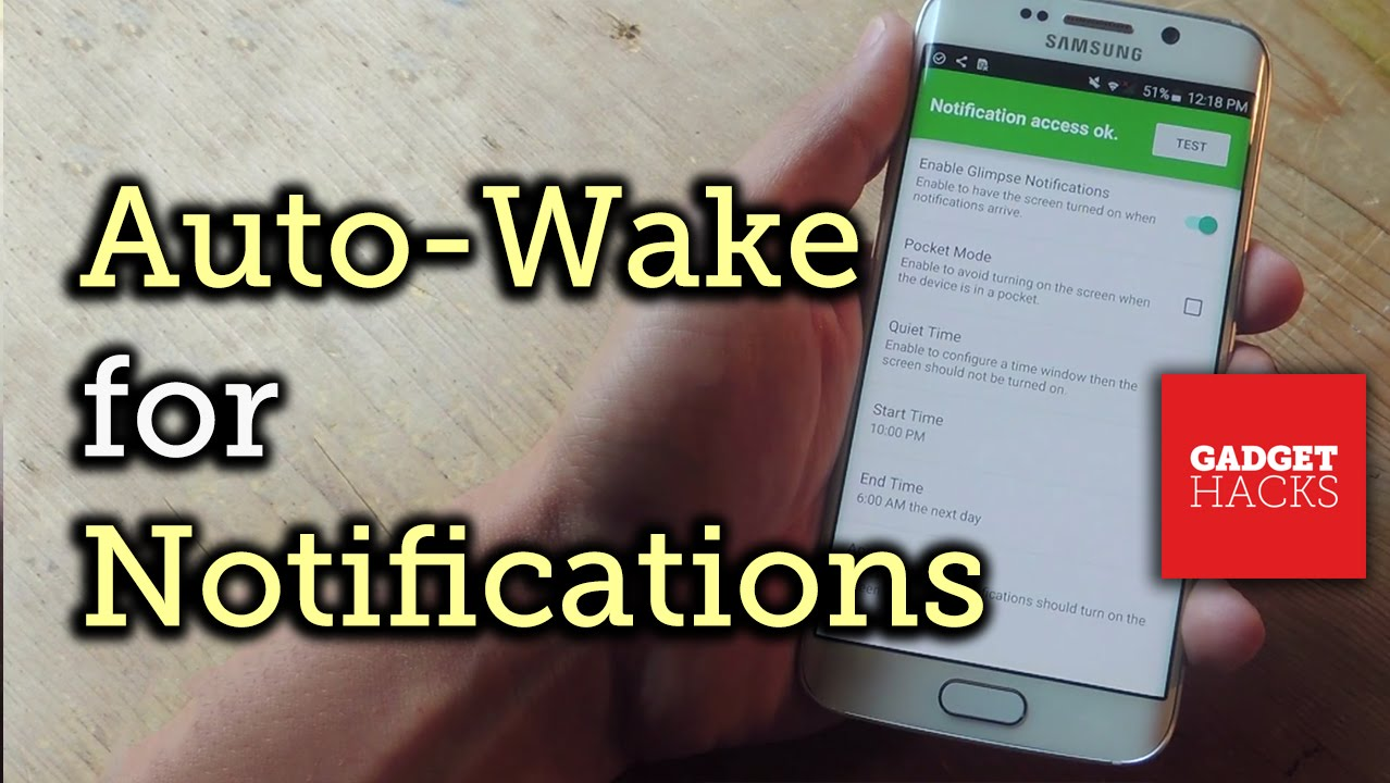 Auto-Wake Your Android's Display for Incoming Notifications - Android  [How-To]