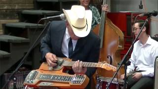 Almost To Tulsa - Secret Aging Man Medley - Junior Brown at Mercury Charlies New Hot Rod Shop