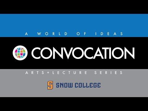 Snow College Convocations: Ken Sanders 11-10-2016