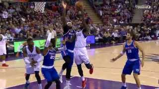 NBA: DeMarcus Cousins Powers Kings Over Sixers with 33 Points