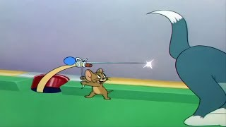 Tom And Jerry Cue Ball Cat T & J