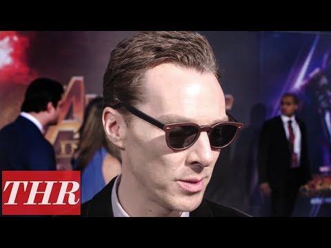 Benedict Cumberbatch on 'Avengers: Infinity War' Premiere Red Carpet   THR