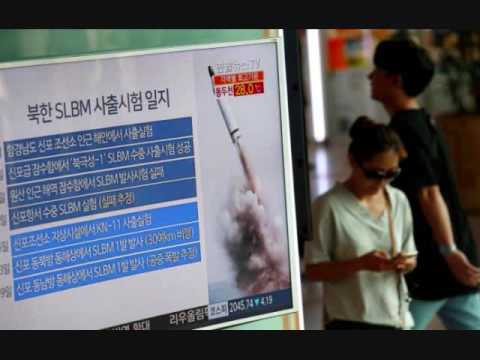 North Korea fires submarine launched ballistic missile towards Japan