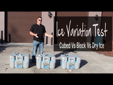 Cubed Ice Vs Block Ice Vs Dry Ice, Which Last The Longest? How Does Dry Ice Work In A Cooler?