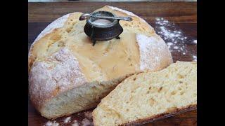 Хлеб на кислом молоке.#Рецепт - проще не бывает!