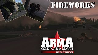 """ARMA: Resistance (Operation Flashpoint: Resistance) Mission 14 """"Fireworks"""""""