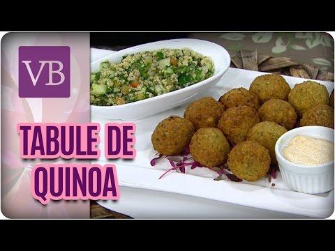 Tabule de Quinoa - Você Bonita (16/03/17)