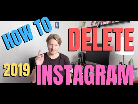 How to Delete Instagram Account Permanently in Mobile With Android or iPhone 2019