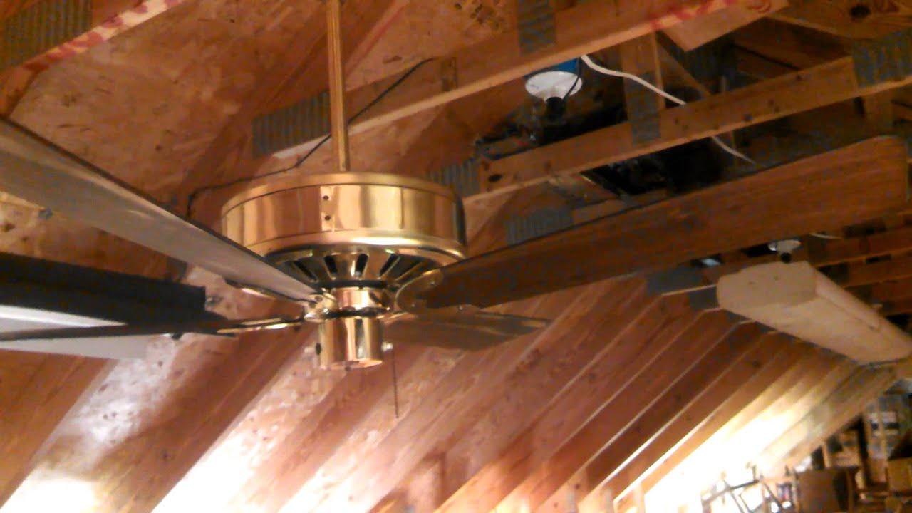 Fasco Parlour fan Ceiling Fan model 952 in Corsican Brass