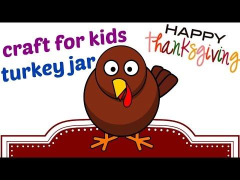crafts-for-kids.-thanksgiving-turkey-jar.-diy-for-kids.