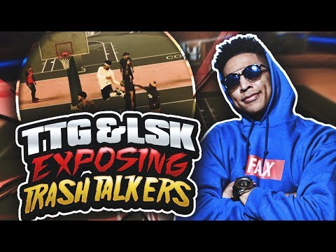 LSK & TTG EXPOSING TRASH TALKERS! NBA 2K17 MyPark Gameplay