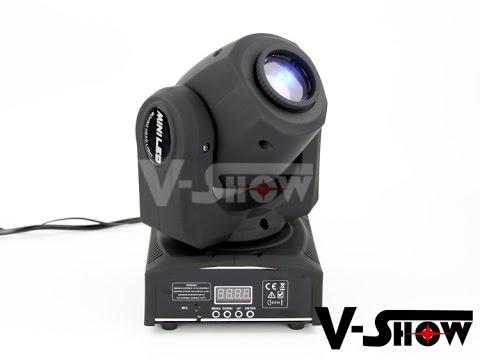 Mini Moving Head Spot LED 10W