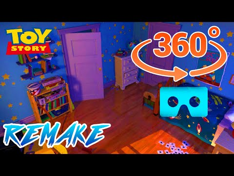 TOY STORY ROOM 360 VIDEO REMAKE 2.0