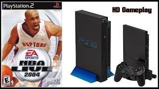 nba live 2004 ps2 2003 gameplay hd philadelphia 76ers v new york nicks