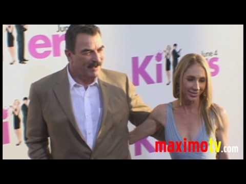 "Tom Selleck and Jillie Mack  Arrives at ""KILLERS"" Los Angeles Premiere June 1, 2010"