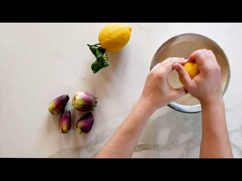 How to clean baby artichokes