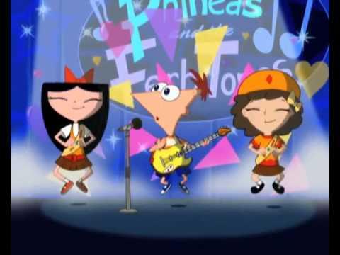 Phineas ve Ferb gitchi gitchi goo Türkçe - YouTube