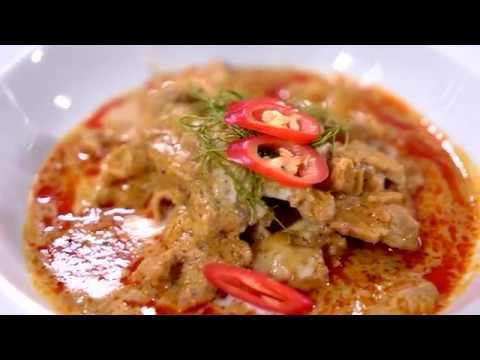 Pork Panang Curry : Thai Food Recipe by Mae Ploy