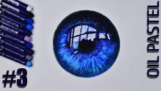 Как Нарисовать Глаз Масляной Пастелью / Для новичков / Oil Pastel Eye