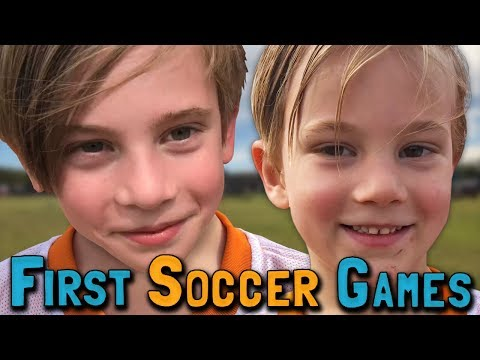 First Soccer Games EVER!! (March 10, 2018)