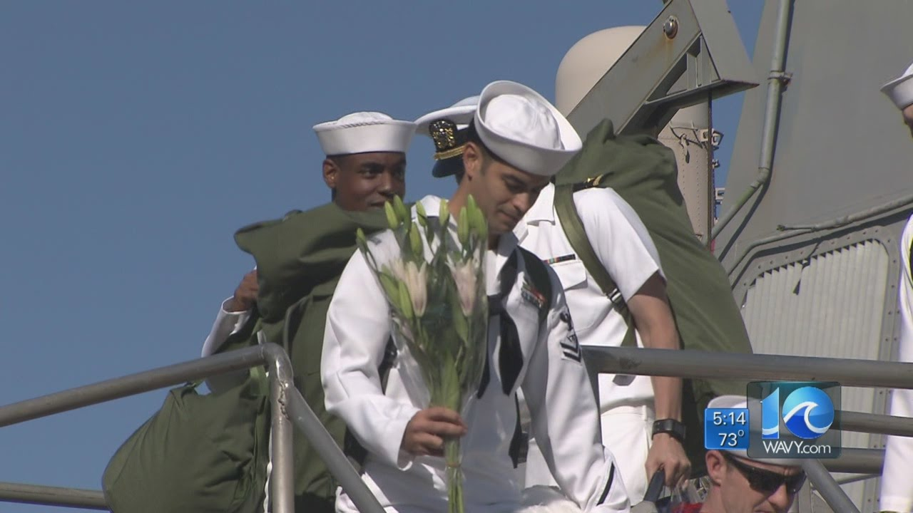 Anita Blanton on the naval homecoming - YouTube
