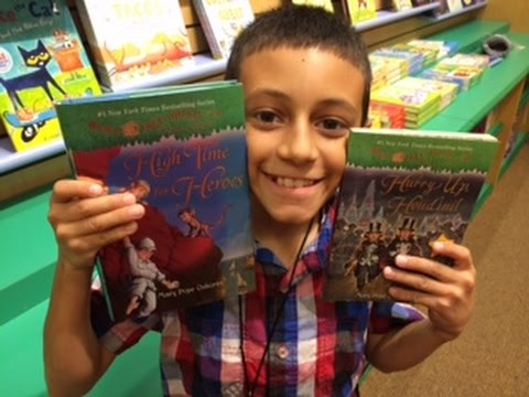 Magic Tree House Books @ Barnes & Noble - Decisions, Decisions For Dom