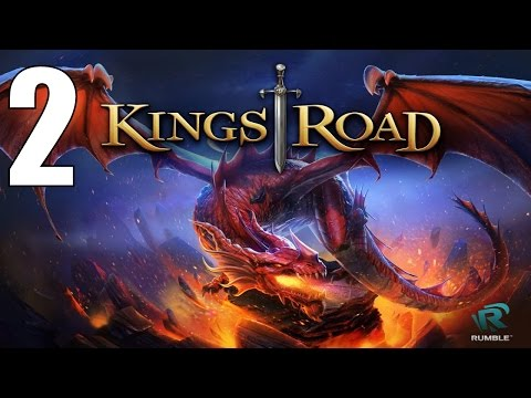 KingsRoad Android Gameplay #2 - Brightwall Gates - 동영상