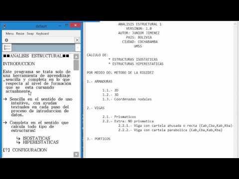 Introduccion Analisis Estructural Classpad 2 By Junior
