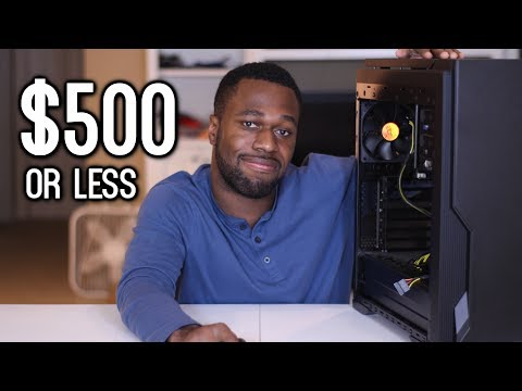 If you're building a NEW Budget Gaming PC for $500 or less... | OzTalksHW