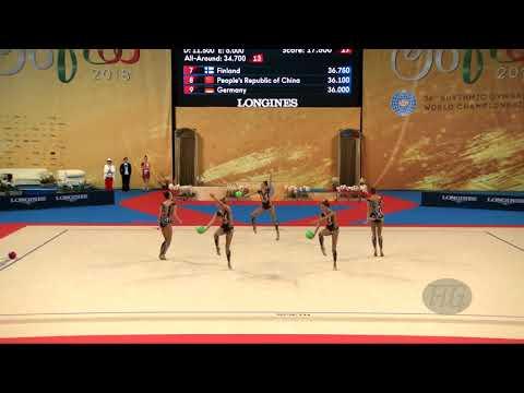 Russian Federation (RUS) - 2018 Rhythmic Worlds, Sofia (BUL) - Qualifications 3 Balls + 2 Ropes