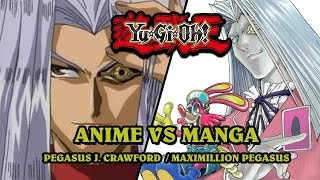 Yu-Gi-Oh Anime VS Manga Analysis #5: Pegasus