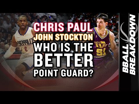 [BBALLBREAKDOWN]Chris Paul vs John Stockton: WHO IS THE BETTER POINT GUARD?