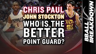 Chris Paul vs John Stockton: WHO IS THE BETTER POINT GUARD?