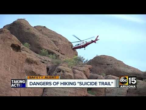 Teen's 100-foot fall highlights dangers of Camelback Mountain