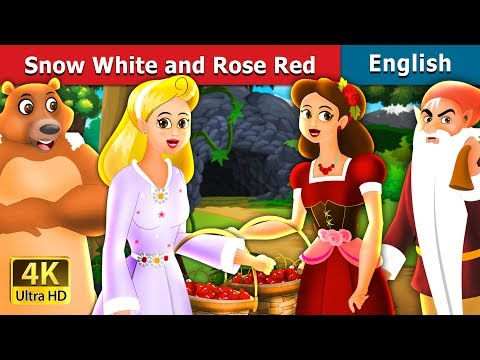 Snow White And Rose Red Story In English   Story   English Fairy Tales