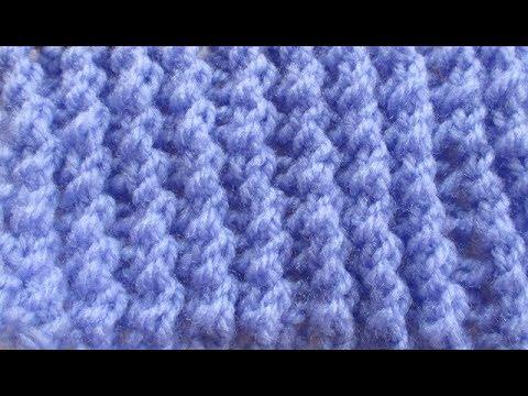 Cotes ajourées tricot