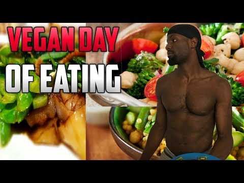 What I Ate Today (Vegan Basketball Player)