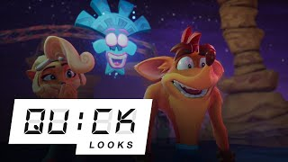 Crash Bandicoot 4: It's About Time: Quick Look