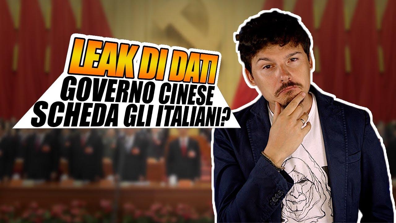 Il governo cinese scheda migliaia di italiani a loro insaputa?