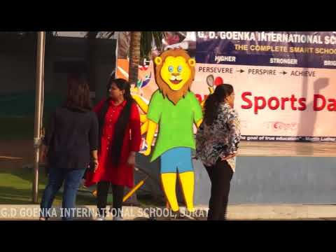 MIDDLE SECTION ANNUAL SPORTS DAY CELEBRATION OPENING CEREMONY  27-12-2017
