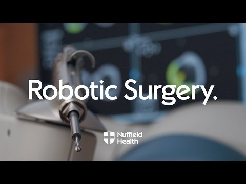 Robot Arm Assisted Surgery | Nuffield Health